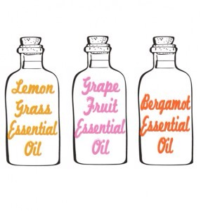 Here what you'll need:  10 drops Lemongrass Essential Oil 10 drops Grapefruit Essential Oil 10 drops Bergamot Essential Oil 8 ounces of water (1) small spray bottle Fill the spray bottle with 8 ounces of water, add 10 drops each of the Lemongrass, Grapefruit and Bergamot Essential Oils, and shake.