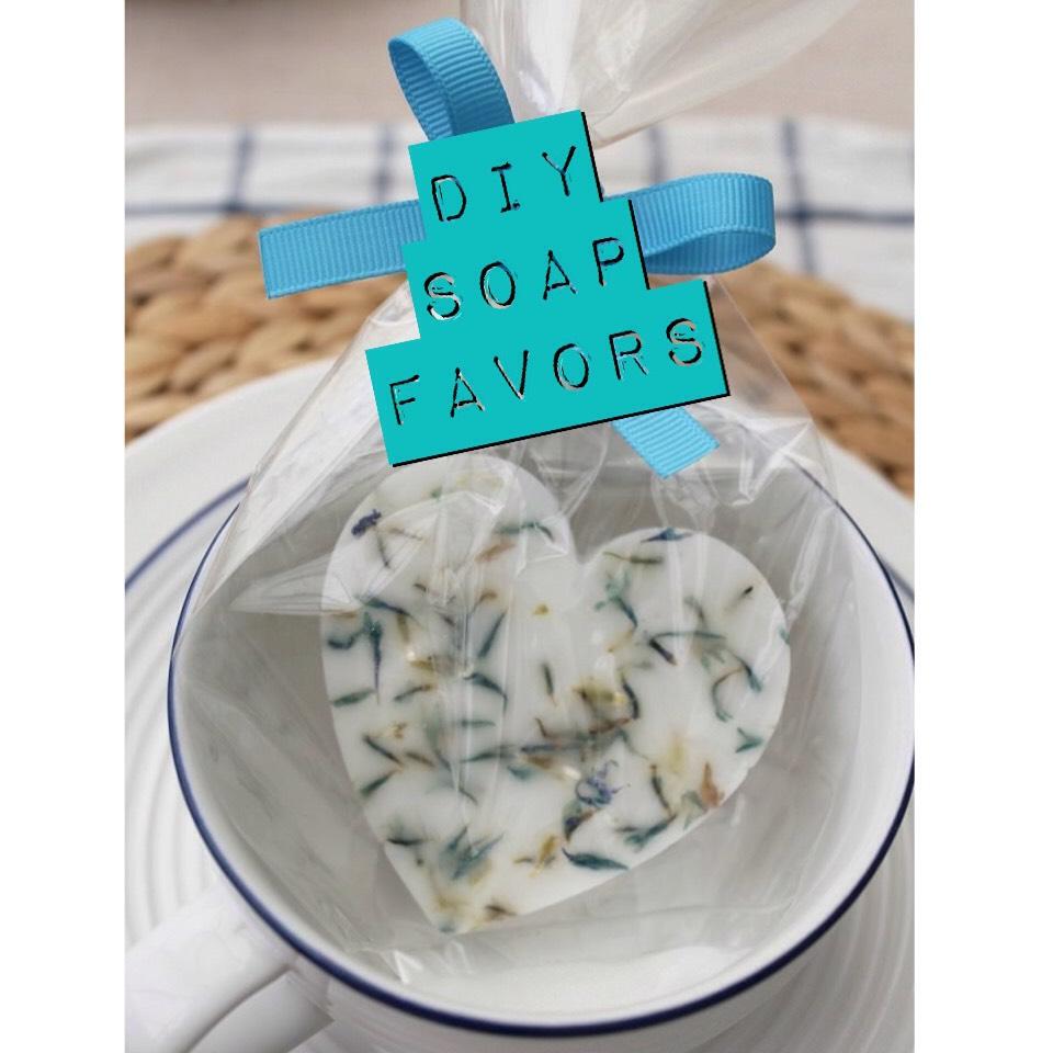 To Find Original Instructions |  www.boho-weddings.com/2014/10/27/diy-soap-favours/