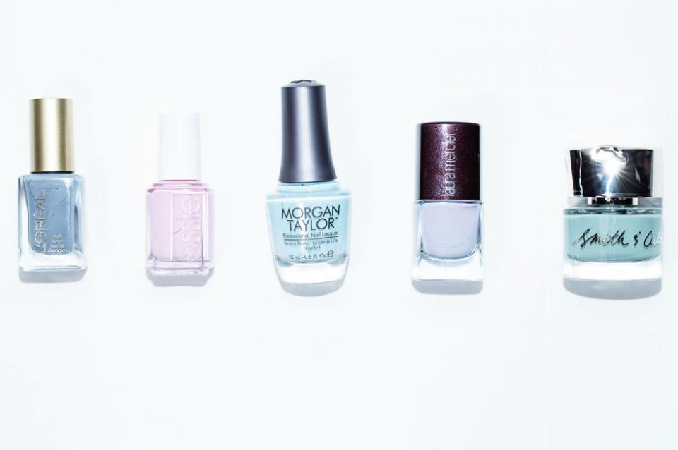 17. Pastel Polish. These light and airy colors are now welcome in fall and winter just as much as they are in spring and summer. They're the perfect alternative to nude shades, since the color is barely there, yet still beautiful.