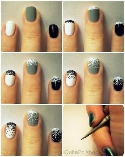 👆(Double tap for a fuller sized image)!  ✨Glitterati On Nails Tutorial! Love! 💅