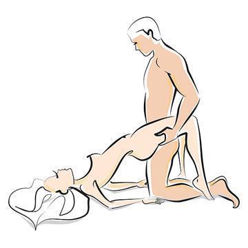Legs On Shoulders Sex Position