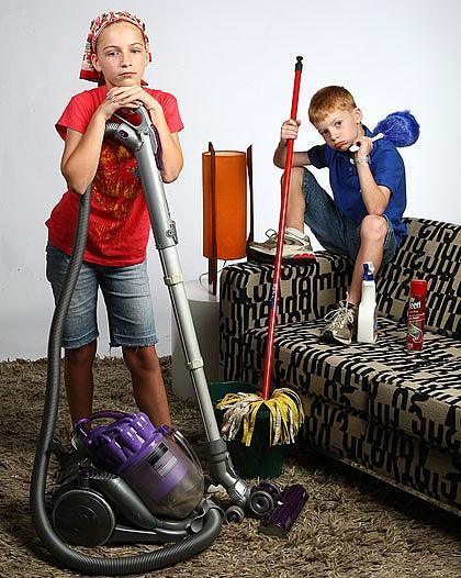 GIVE YOUR CHILD SOMETHING THAT THEY LIKE TO CLEAN.IT IS EXTREMELY HARD TO GET YOU CHILD/CHILDREN TO CLEAN THEIR ROOM,LET ALONE SOMETHING ELSE!..TRY ASKING THEM WHAT THEY WOULD LIKE TO DO..EX..FEED OR TAKE THE DOG FOR A WALK CLEANING UP AFTER THE CAT,MAYBE PUTTING AWAY THE DISHES OR WIPING THE TABLE.