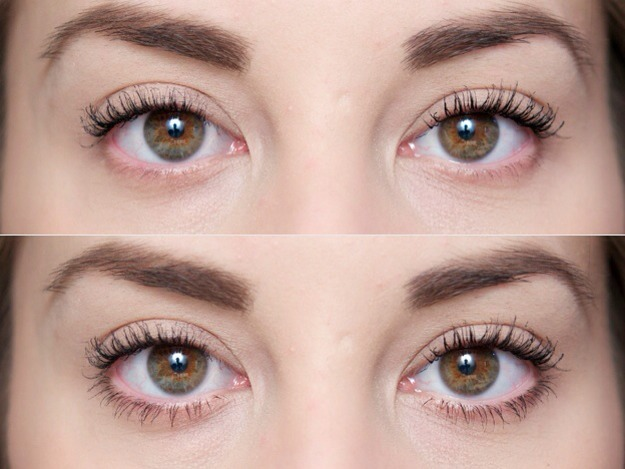 Apply mascara to your lashes  You want to choose a mascara that offers  clean  separated lashes so they don t look chunky or clumpy. Musely