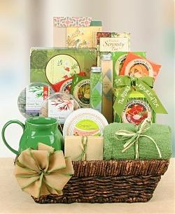 Another spa gift basket