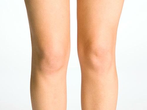 Step #5 Apply Vaseline Behind Knees