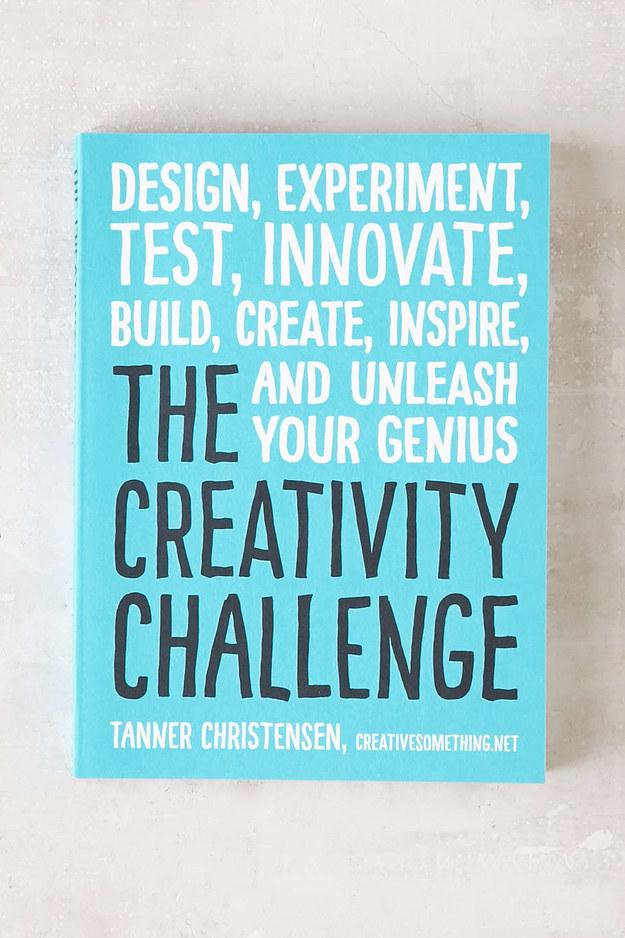 10. Take the creativity challenge: