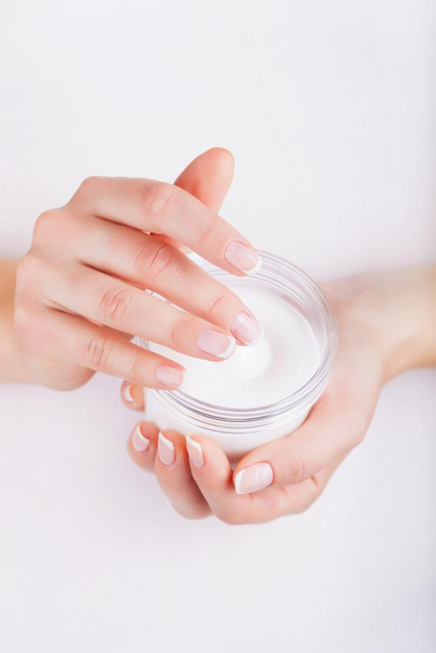 Moisturizer could be the key to making your nails stronger.Hand cream and moisturizers are great for nails, as it targets the cuticles to promote healthy growth. Also, nails will retain the moisture, which decreases nail breaks.