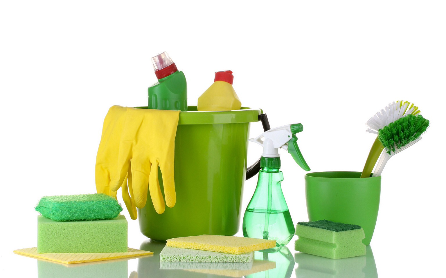 Use green or natural cleaning products to illiminate any extra chemicals produced in the air. You would be suprised how much overtime that chemical builds up in our environment as well its damaging to our respiratory system if not properly ventilated over time.