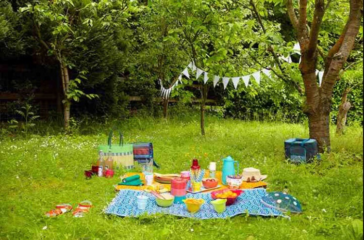 Have a picnic - Pack a lunch and go to the park with some friends.