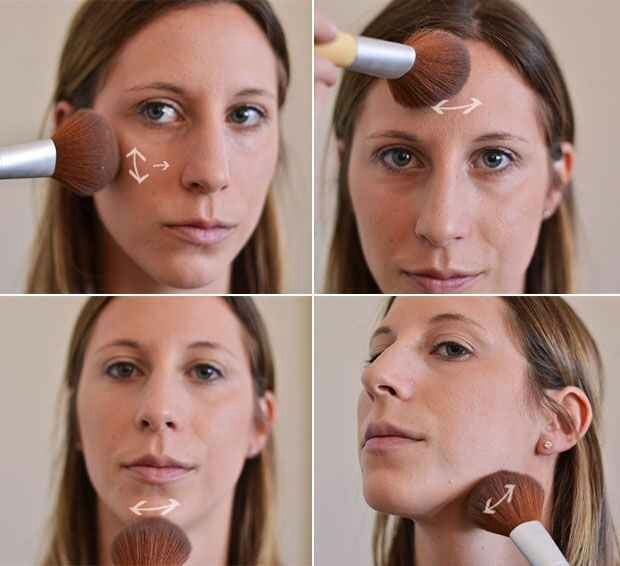 11. Or you could go simple with just a dusting of bronzer.
