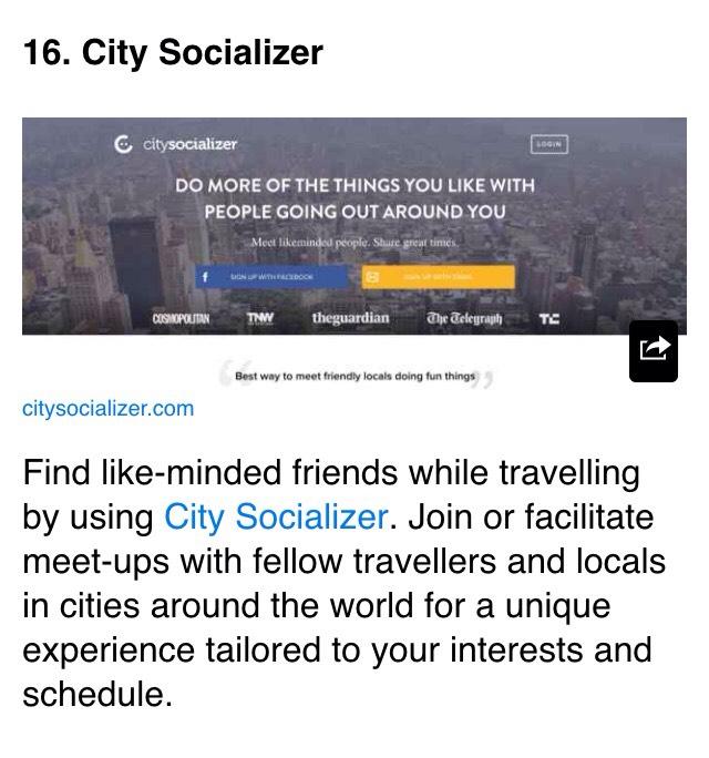 citysocializer.com