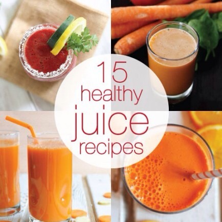 Juice It Up!  Juicing is a great way to get in lots of nutrients and stay healthy! These recipes can help get you going!
