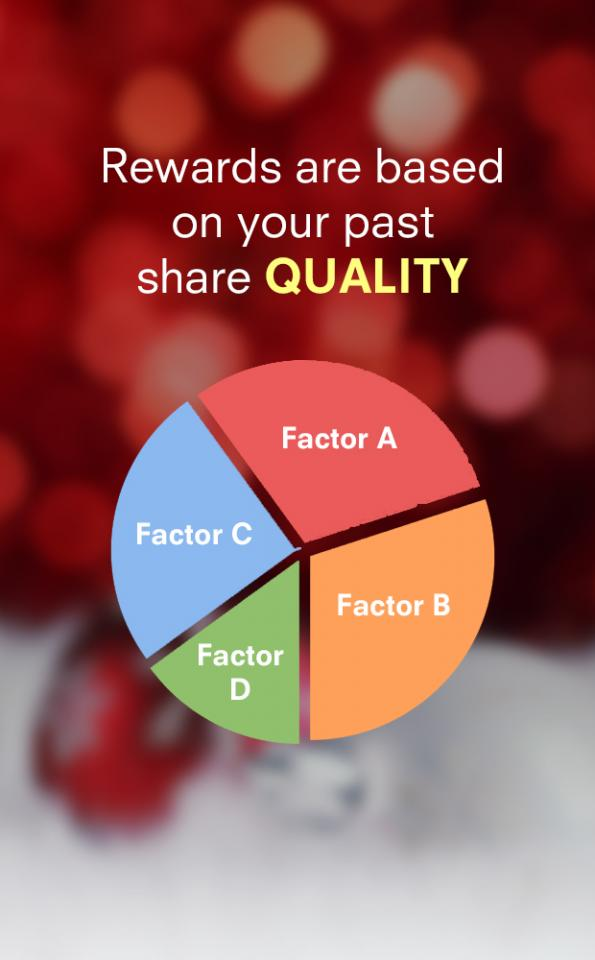 The amount of points you will earn will be based on the quality and results of your past tip shares.