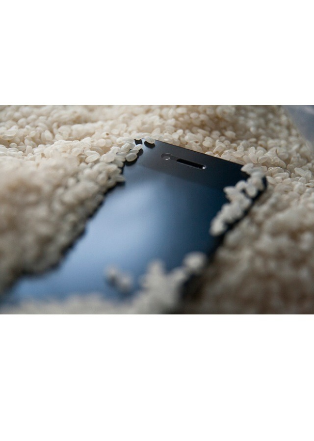 If you've ever dropped your phone in water, you may have put it in a bag of rice to remove the excess moisture. Try using Silica Gel instead and it will remove the moisture more effectively. This will work for any water-damaged electronics. 📹📷💻☎️📱😃
