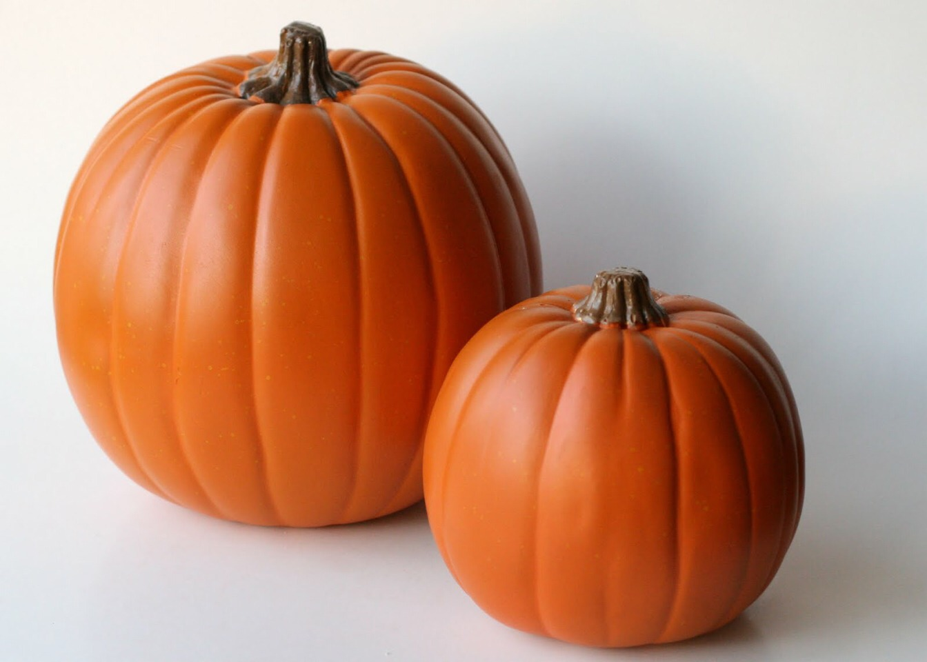 Michael's carries artificial pumpkins that are carve able.