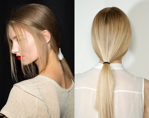 Wear low ponytails to avoid bald spots!