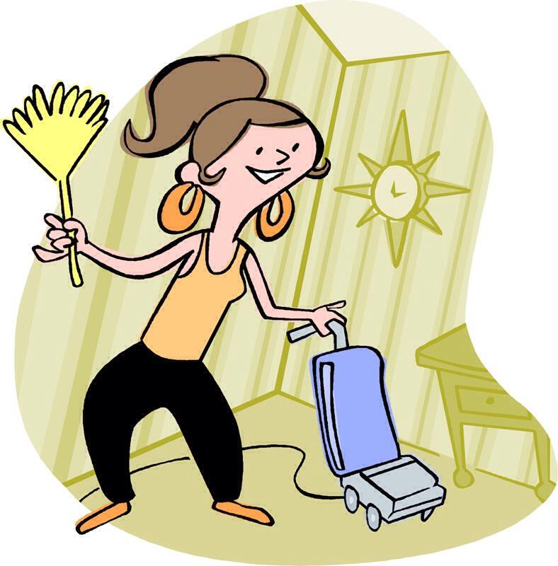 Clean the house..... NAHHHH