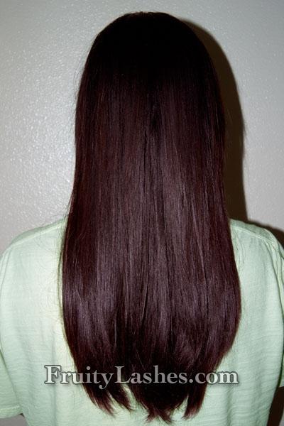 hair smooth as ever