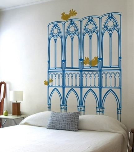 You can purchase this dazzling decal here: http://www.whatisblik.com/shop/mid-century-gothic  Or create your own!