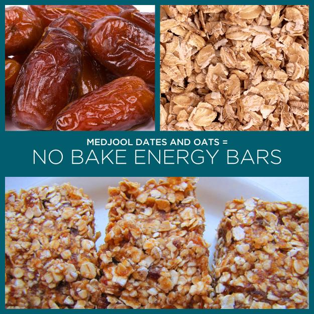 31. Medjool Dates + Oats = No Bake Energy Bars