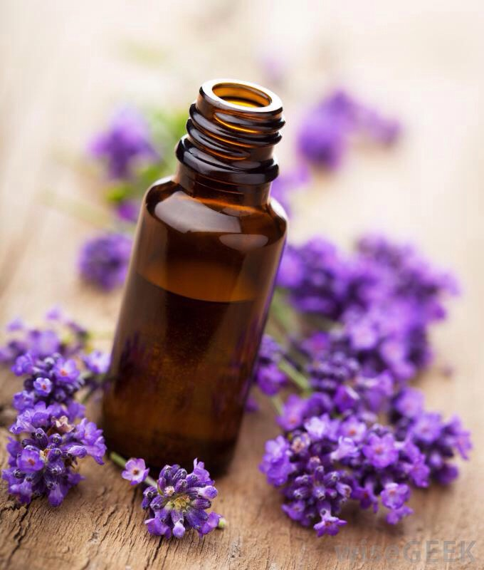 2. Drop it in. Add 12-15 drops of lavender essential oil and mix well. Be sure to break up any clumps with a fork so the oil is well-distributed.  3. Get fresh. Wash your bedding, linens and anything else you want to smell fabulous with two tablespoons of this lavender love potion.