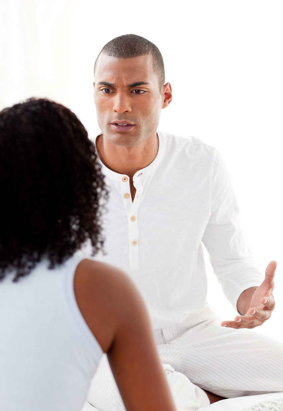 5. NEVER ACCUSE Instead of accusing him of infidelity or other misbehavior over a misdemeanour, simply ask him. No one likes being rashly accused, guilty or not. Avoid acting rashly, and he's more likely to tell you the truth. When you explode he'll be afraid of making you angrier.