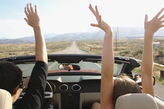 Go on a road trip!