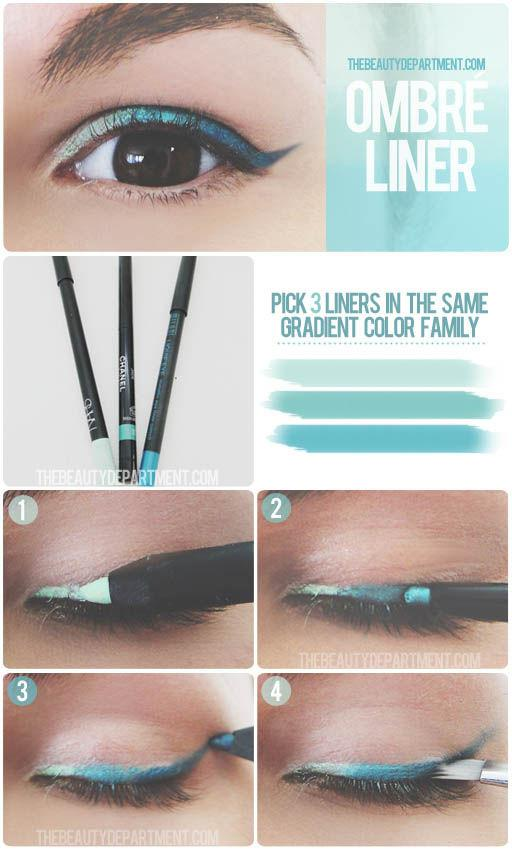 Make an Ombre liner