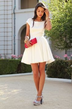 perfect summer dress, for a perfect night on a date. 💏