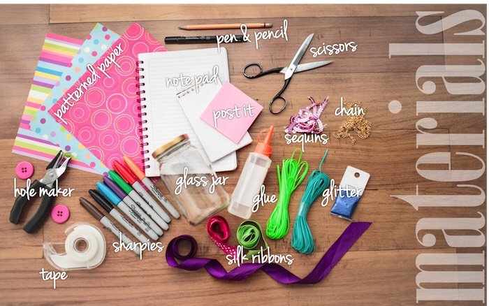 Here's some supplies that you will need. Click on the picture for the full list of materials! ✏️✂️🎀