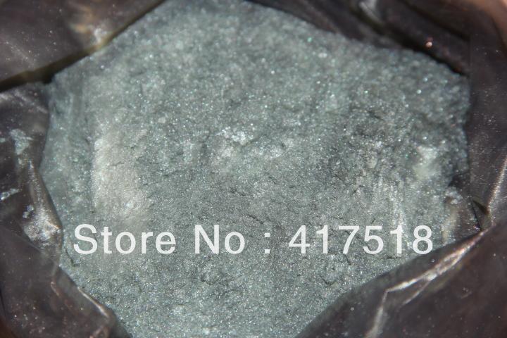 1/8 tsp silver mica powder.