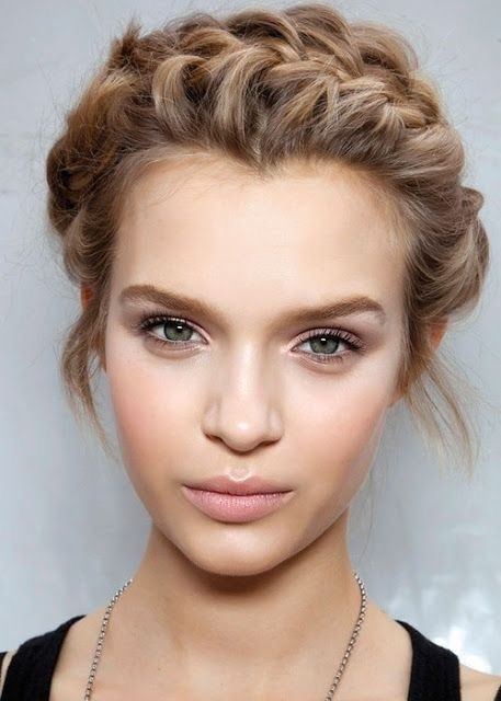 1] Cleanse your face and apply your serums, favorite moisturizer and after letting that soak in for about 10 mins, apply your primer. 2] Apply your favorite foundation/concealer. 3] I would skip the bronzer, or put on with a VERY light hand. I'd go for a peachy pink blush and highlight just slight