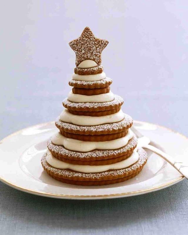 Cookie Christmas tree.