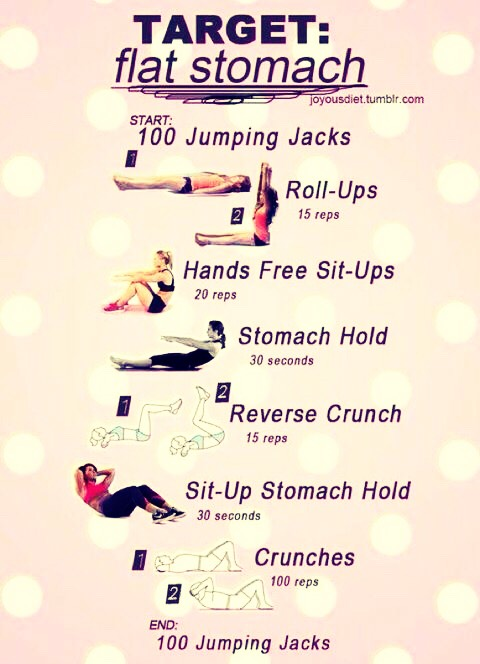 Some easy workouts!! Do once per day!😍