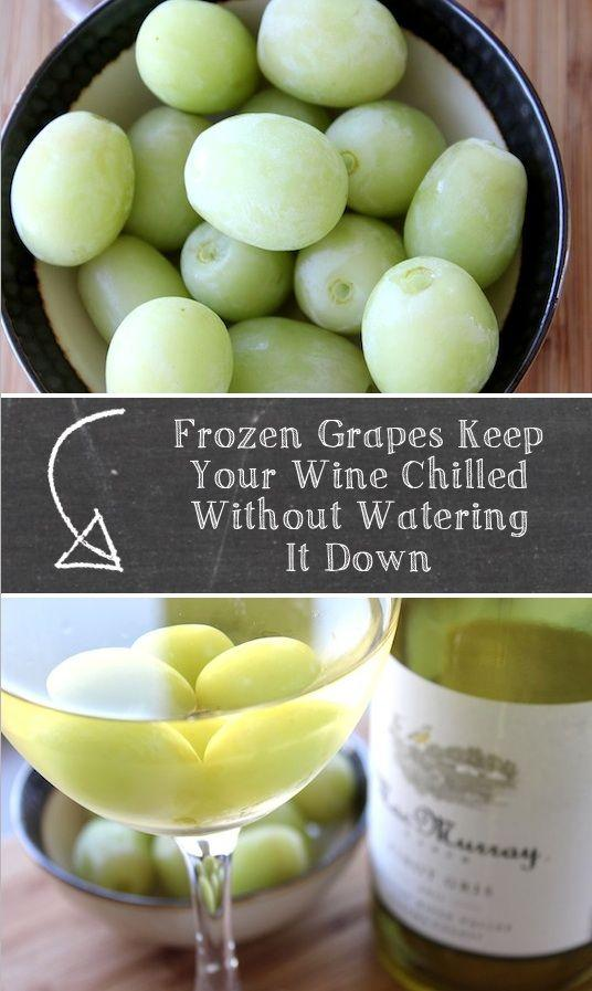 fantastic little cubes for keeping your wine chilled without watering it down