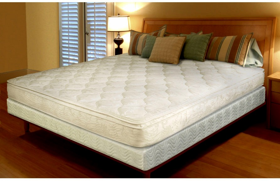 Rotate and/or flip your mattress. That way it will wear evenly, and with the change of seasons it's easy to remember.