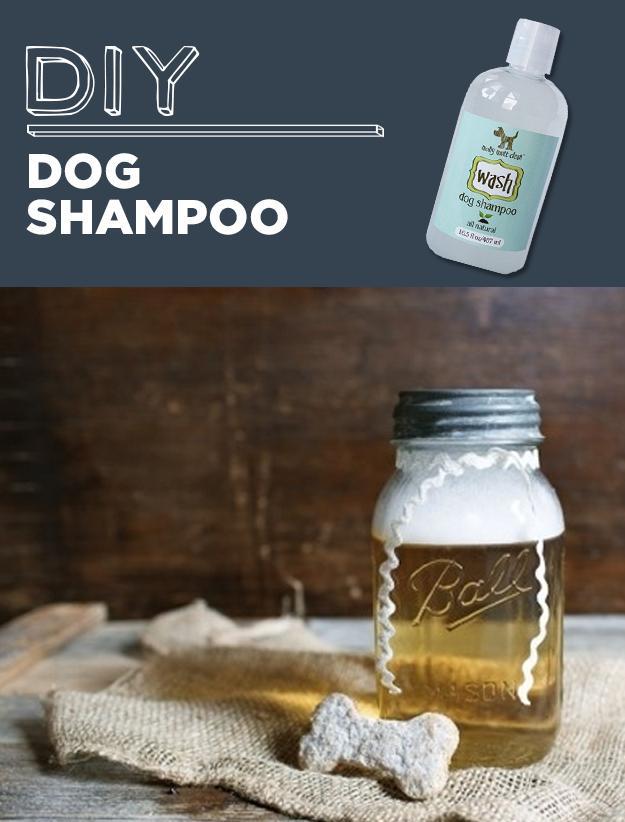 24. DIY Dog Shampoo