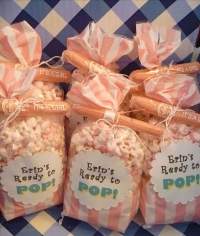 'Ready to Pop' party favors!