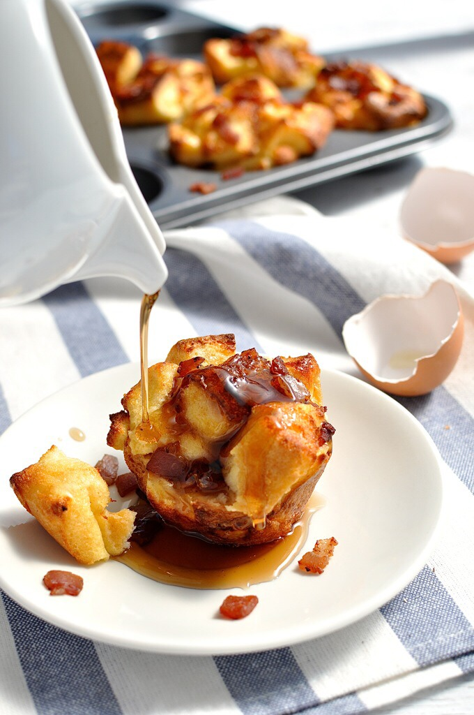http://www.recipetineats.com/pull-apart-bacon-french-toast-muffins/