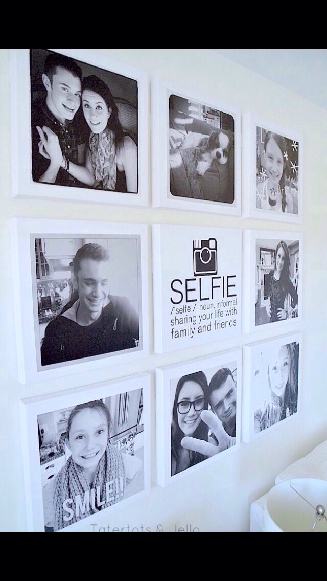 Add pictures in frames, and find a cure definition to match