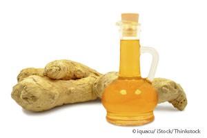 Add a few drops of wild orange, lemon, or ginger oil to a handkerchief & inhale.
