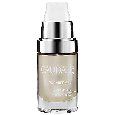 We'repartial to this one, which is loaded withantioxidants + even contains 10% color makeup as a bonus to help brighten the eye area immediately.(Caudalie Premier Cru The Eye Cream, $98, Sephora.com)