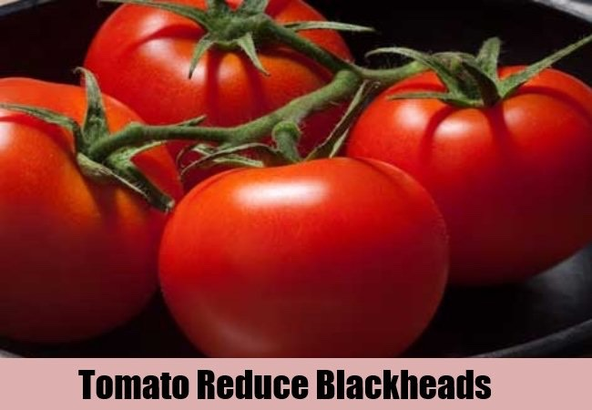 Tomatoes Antiseptic properties of tomato have the ability to dry up whiteheads and blackheads. After skin peel, puree the tomatoes must be made, and it is applied to problem areas overnight. In the morning wash the skin with lukewarm water.