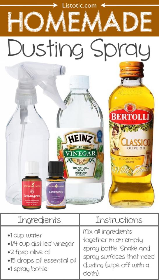 18. Homemade Dusting Spray