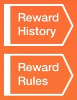 It will show that you have a message. And that message will tell you to go to you reward history. You get there by clicking on the points symbol and reward history will be in the top right.