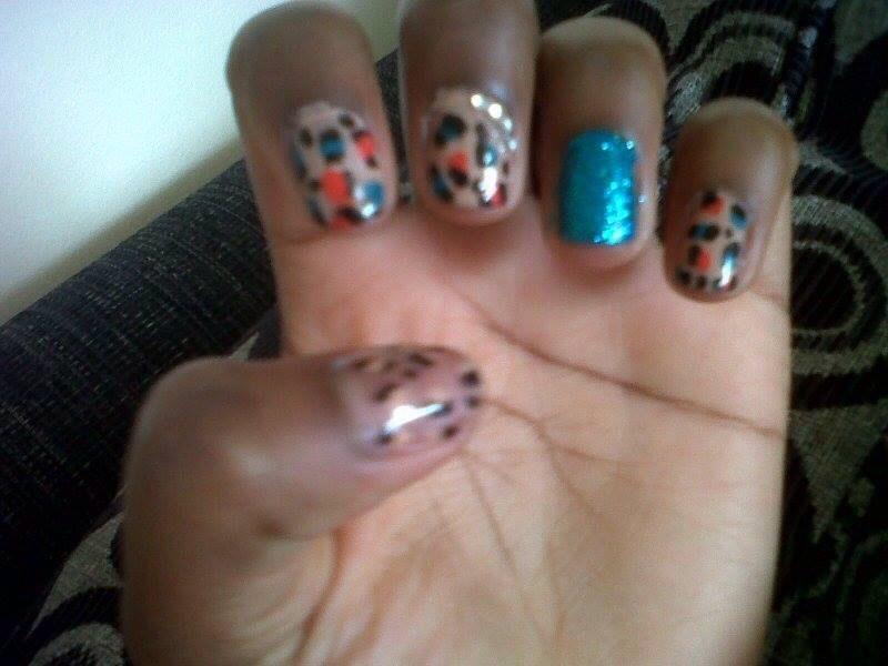 Before I started my nail growth, I had cut down my nails so I could grow them again