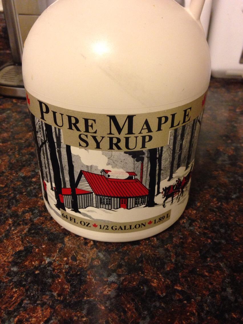 8-16 tbsp of grade B maple syrup