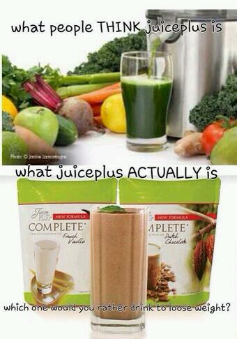 Juiceplus shakes are made up of 17 fruit & veg! !