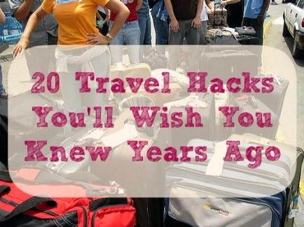 The following travel hacks are tried-and-true favorites of mine. They've made my travels easier and virtually painless, especially when traveling with kids.