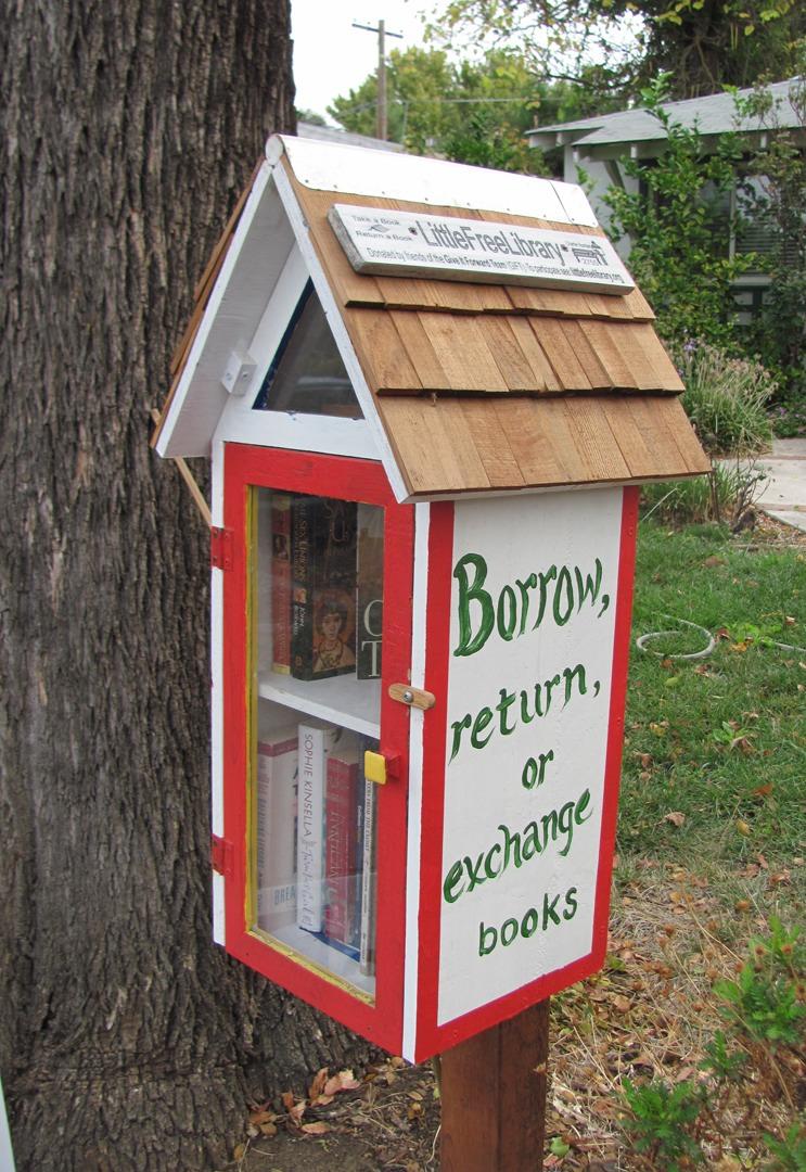 Little Free Library Ideas By Monika Szeremyne Jakab Musely